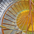 Circular stairs St. Isaac's Cathedral, St.Petersburg — Stock Photo