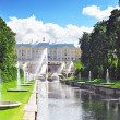 Grand cascade in Pertergof, Saint-Petersburg, Russia. — Stock Photo