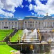 Grand cascade in Pertergof, Saint-Petersburg, Russia — Stock Photo #21512357