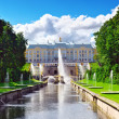 Stock Photo: Grand cascade in Pertergof, Saint-Petersburg, Russia