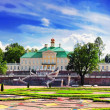 Menshikov Palace in Saint Petersburg, panorama. - Stock Photo