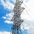 Power Transmission Line. Close-Up — Stock Photo