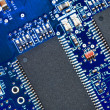 Close-up of electronic circuit board. Macro . — Stock Photo #27741875