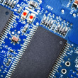 Close-up of electronic circuit board. Macro . — Stock Photo #27967401