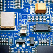 Close-up of electronic circuit board. Macro . — Stock Photo #27967405