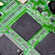 Close-up of electronic circuit board. Macro . — Stock Photo #27967413