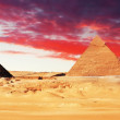 Great Pyramid located at Giza — Stock Photo #31192093