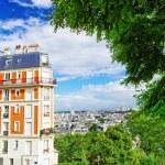 City, urban view of Paris.France. — Stock Photo