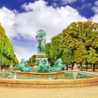 Luxembourg Garden in Paris,Fontaine de lObservatoir.Paris — Stock Photo #33549725