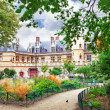 Mansion and the thermae of Cluny.Paris.France — Foto de Stock