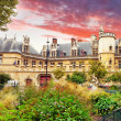 Mansion and the thermae of Cluny.Paris.France — Stok fotoğraf