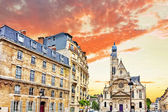 Church of Saint-Etienne-du-Mont (1494-1624) in Paris near Panthe — Stock Photo
