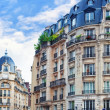 City, urban view on building in Paris.France. — Stock Photo