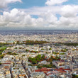 Panorama of Paris from the Montparnasse Tower. France. — Stock Photo #34401933