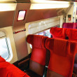 Interior of high-speed train. — Stock Photo #35461427