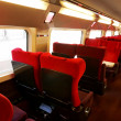 Interior of high-speed train. — Stock Photo #35817337