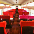 Interior of the high-speed train. — Stock Photo #36059755