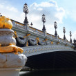 Постер, плакат: Pont Alexandre III bridge 1896 spanning the river Seine Decor