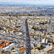 Panorama of Paris from the Montparnasse Tower. France. — Stock Photo