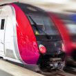 Modern Fast Passenger Train. Motion effect — Stock Photo #37217233