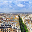 View of Paris from Arc de Triomphe. .Paris. France. — Stock Photo #37217313