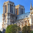 Stock Photo: Details of Notre Dame de Paris Cathedral.France.