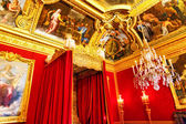 Interior of Queen's bedroom  in Chateau of Versailles, Paris, Fr — Stock Photo