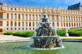 Beautiful Versailles Fontaine -Pyramid , France  — Stock Photo