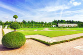 VERSAILLES FRANCE - SEPTEMBER 21 Beautiful garden  Versailles, F — Stock Photo