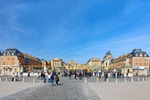 VERSAILLES FRANCE SEPTEMBER 21 Main entrance of Versailles Palac — Stock Photo