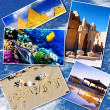 Collage of beautiful Egypt . Africa. — Stock Photo #50566775