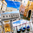 Collage of beautiful Italy. Rome, Florence, Pisa, Venice — Foto de Stock   #50948621