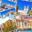 Collage of beautiful Italy. Rome, Florence, Pisa, Venice — Foto de Stock   #50948635