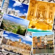Collage of beautiful Italy. Rome, Florence, Pisa, Venice — Foto de Stock   #50948849
