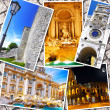 Collage of beautiful Italy. Rome, Florence, Pisa, Venice — Foto de Stock   #50949139