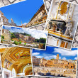 Collage of beautiful Italy. Rome, Florence, Pisa, Venice — Foto de Stock   #50949247