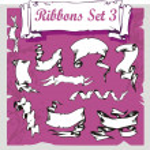 Ribbons Set - Vector illustration. — Stock Vector #16762455