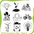 ECO - Green Life - vector set. — Stock Vector