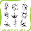 Ecology - vector illustration. — Image vectorielle