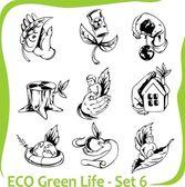 Ecology - vector illustration. — Stock Vector
