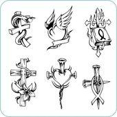 Christian Religion - vector illustration. — Stock Vector