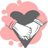Valentine's Day - vector set. — Stock Vector