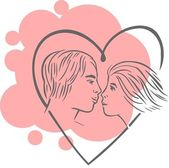Valentine's Day - vector set. — Stock Vector