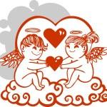 Valentines Day - vector illustration. — Stock Vector #19794073
