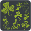 Saint Patrick's Day - Vector illustration. — Imagen vectorial