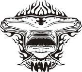 Marine-militär-design - vektor-illustration. — Stockvektor