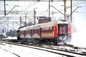 Passenger train — Stock Photo