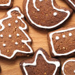 Different Shapes of Gingerbread Cookies — Stock Photo #12730901