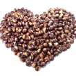 Stock Photo: Chestnut Heart