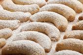 Fresh Vanilla Cookies — Stock Photo